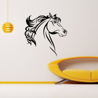 Horse Head Vinyl Wall Art Decal Sticker