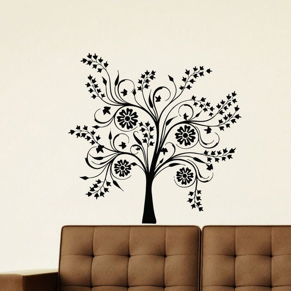 Shop Fantasy Tree Vinyl Wall Art Decal Sticker - Free Shipping On ...