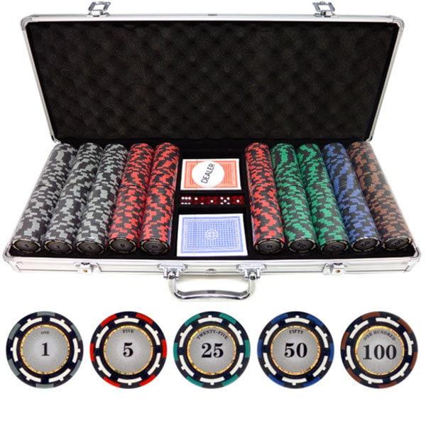 500-piece Z-Pro 13.5-gram Clay Poker Chips