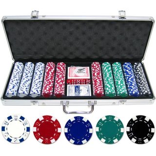 500-piece 11.5-gram Dice Poker Chip Set