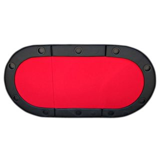 Padded Texas Hold'em Folding Poker Table Top with Cup Holders Red|https://ak1.ostkcdn.com/images/products/10642857/P17710446.jpg?_ostk_perf_=percv&impolicy=medium