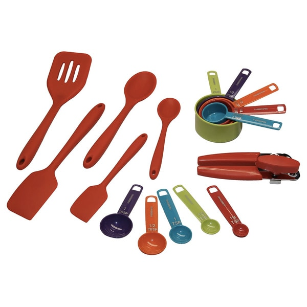 shop farberware 16 piece kitchen tool set free shipping on orders rh overstock com