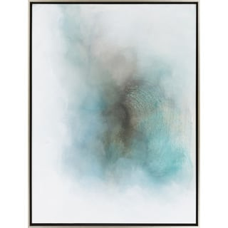 "Abstract Yasmin Rectangular Framed Canvas Painting 36"" x 48"""
