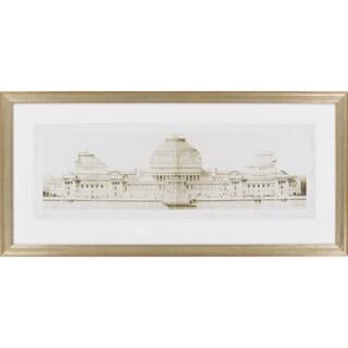 """Les Grand Prix de Rome I Albert Framed Giclee 43"""" x 21"""""""