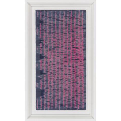 """Stripe Tyrese Rectangular Framed Giclee on Paper 44"""" x 26"""""""