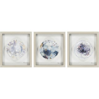 """Matching Set Claire Framed Hand-painted Ceramic Plate 16"""" x 18"""""""