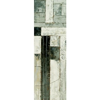 "Abstract Carmen Rectangular Unframed Painting 20"" x 60"""