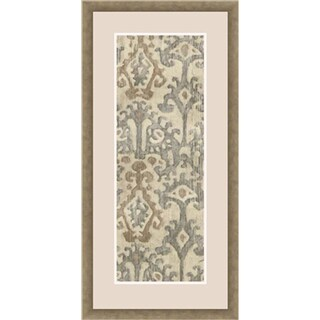 "Decorative Sergio Rectangular Framed Giclee on Paper 21"" x 43"""