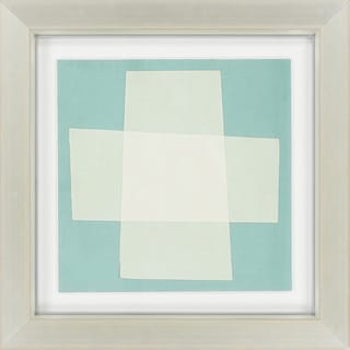 "Contemporary Maliah Square Framed Print 26"" x 26"""