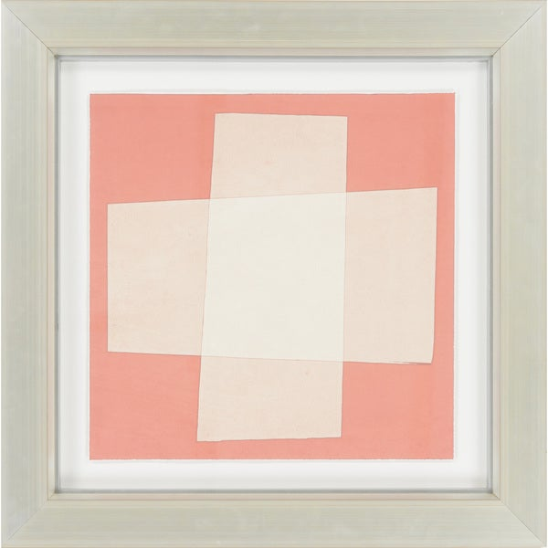 "Contemporary Nettie Square Framed Print 26"" x 26"""