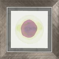 "Geometric Evelyn Square Framed Print 29"" x 29"""