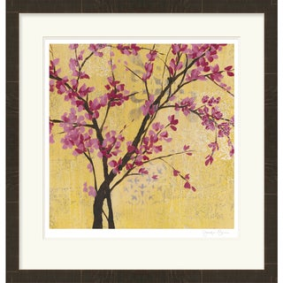 """Floral Wesley Rectangular Framed Giclee on Paper 29"""" x 30"""""""