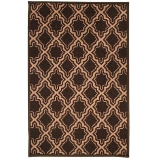 Decorative 20 Inch by 30 Inch Scroll Tile Design Area Rug