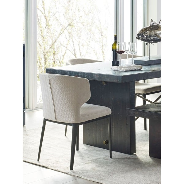 Aurelle Home Lizzie Modern Beige Dining Chair (Set Of 2) by Aurelle Home