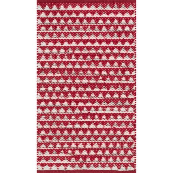 Alexander Home Dakota Hand-Woven Cotton Rug. Opens flyout.
