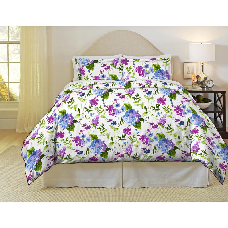Pointhaven Primavera 200 Thread Count Printed Percale 3-p...