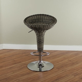 Monsoon Rattan Swivel Adjustable Height Stool