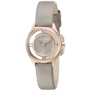 Marc Jacobs Women's MBM1380 'Thether' Grey Leather Watch