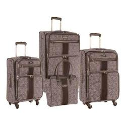 Nine West Naia Plum/Lilac 4-Piece Expandable Spinner Luggage Set