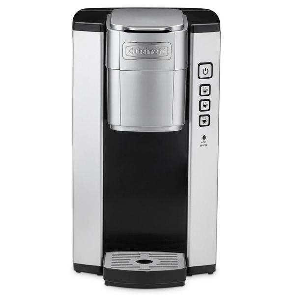 Cuisinart SS-5 Brushed Metal Single Serve Brewer. Opens flyout.