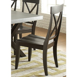 Keaton Charcoal Side Chair