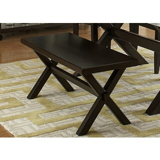 Keaton Charcoal Trestle Base Dining Bench
