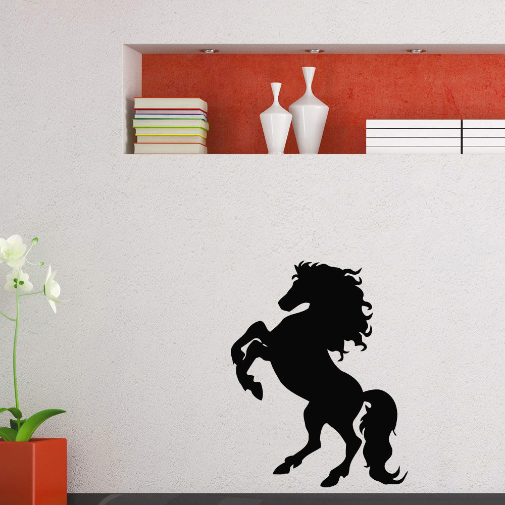 Horse Mustang Vinyl Wall Art Decal Sticker (35 inches x 2...