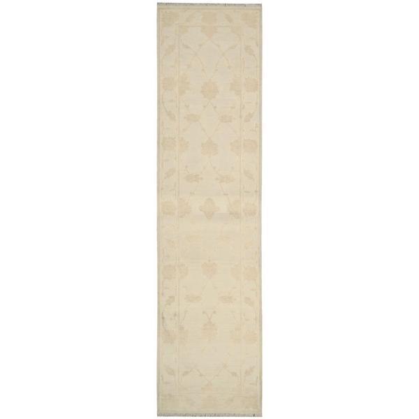 Nourison Silk Pointe Ivory Runner Rug (2'6 x 10')