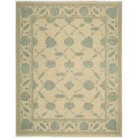 Nourison Silk Pointe Light Gold Rug (5'10 x 8'10)
