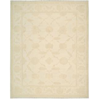 Nourison Silk Pointe Ivory Rug (5'10 x 8'10)