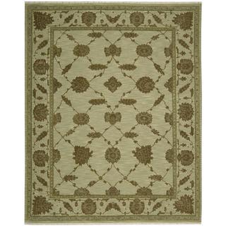 Nourison Silk Pointe Green Rug (3'10 x 5'10)