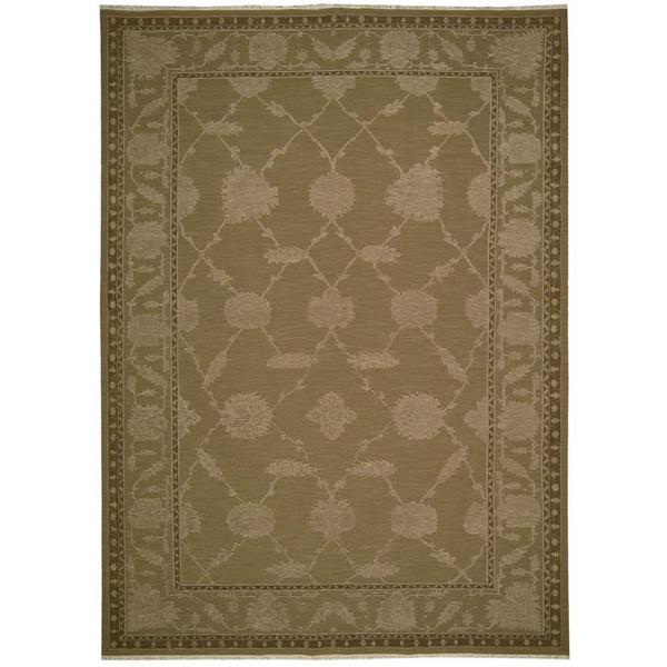 Nourison Silk Pointe Brown Rug (3'10 x 5'10)