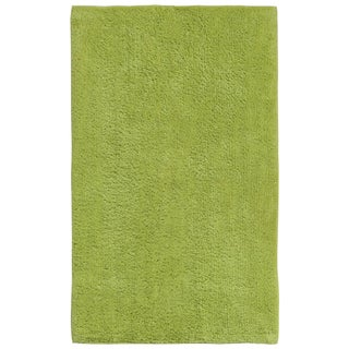 Plush Pile Green 21 x 34 inch Bath Rug - 21 x 34