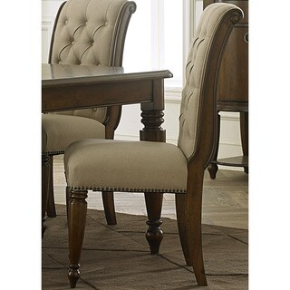Gracewood Hollow Chaparadza Cherry Upholstered Dining Chair (Set of 2)