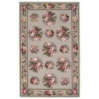 Waverly Gallery Green Area Rug by Nourison (2'6 x 4'3) - 2'6 x 4'3
