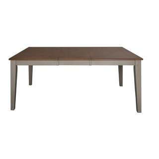 Fresco Taupe and Wood Transitional Dinette Table