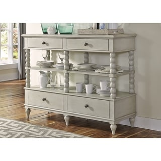 Cottage Harbor Dove Grey Sideboard Server