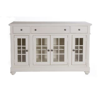 Liberty buffets sideboards china cabinets for less overstock cottage harbor white buffet planetlyrics Images