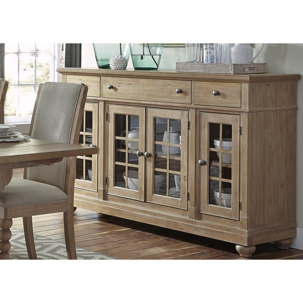 Shop Cottage Harbor Sand Buffet Free Shipping Today