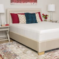 Comfort Memories Select a Firmness 12-inch California King-size Hybrid Mattress - White
