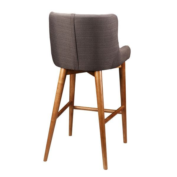 Peachy Shop Aurelle Home Nordic Mid Century Modern Brown Counter Unemploymentrelief Wooden Chair Designs For Living Room Unemploymentrelieforg