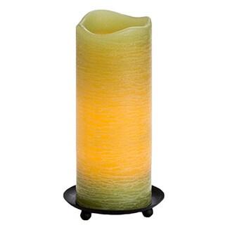 8-inch Bamboo Rustic Wax Pillar