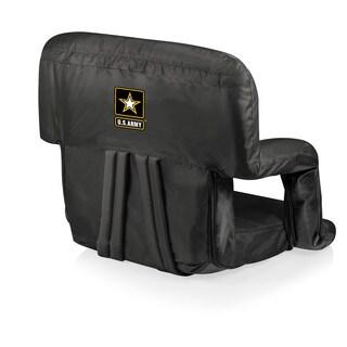 Picnic Time Black U.S. Army Ventura Seat