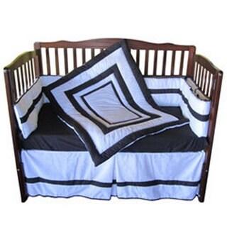 Neutral Double Hotel Crib Bedding