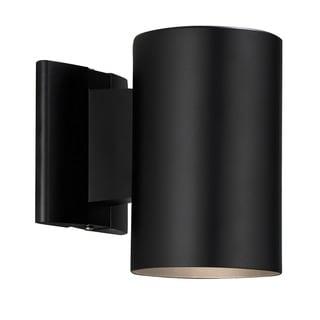 contemporary exterior lighting. contemporary 1-light black outdoor wall light exterior lighting