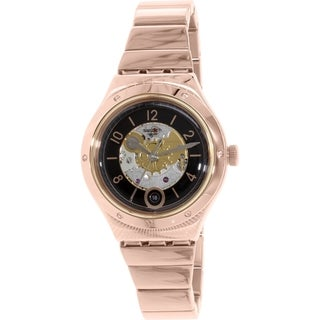 Swatch Men's Irony YAG400G Rose Goldtone Stainless Steel Automatic Watch