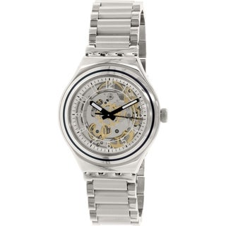 Swatch Men's Irony YAS112G Stainless Steel Automatic Watch