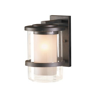 Contemporary 1 Light Oil Rubbed Bronze Outdoor Wall Light