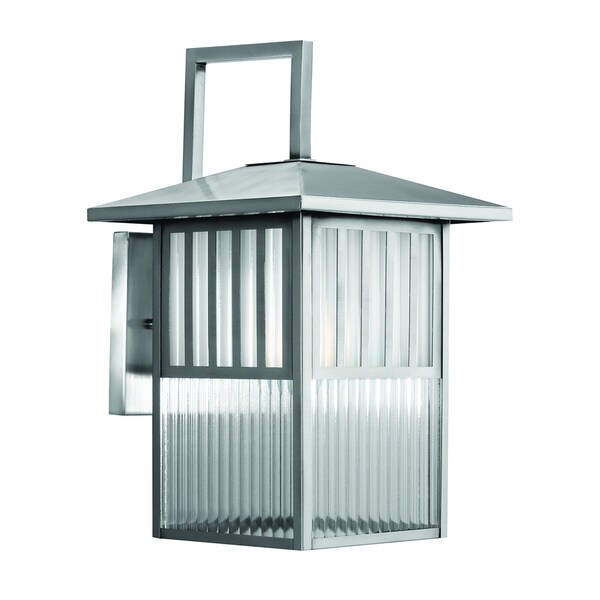 Trasitional 1 light brushed nickel outdoor wall lantern free trasitional 1 light brushed nickel outdoor wall lantern workwithnaturefo