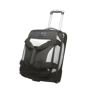 Denco Sports Cooperstown NBA Dallas Mavericks 22-inch Carry On Drop Bottom Upright Duffel Bag